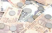 pic of indian currency  - Indoor shoot Indian currency Rupees and coins - JPG