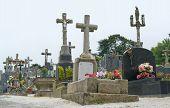 Graveyard At Locronan