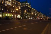 Nevskiy Prospekt At Night