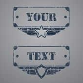 Military style tags