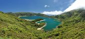 Lagoon of Fire, Azores - Panorama