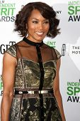 LOS ANGELES - JAN 11:  Angela Bassett at the 2014 Film Independent Spirit Awards Nominee Brunch at