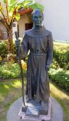 Father Junipero Serra Statue Mission San Buenaventura Ventura California