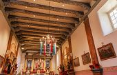 Mission San Buenaventura Basilica Christmas Day Ventura California