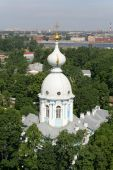 Bird's-eye View Of St. Petersburg