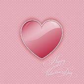 Decorative heart background for Valentine's Day