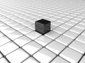 Black other cube