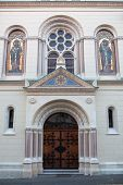 Greek Catholic Church of Saints Cyril and Methodius in Zagreb, Croatia was built in 1880 in neo-Byza