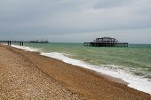 West Pier Ruins, Brighton Beach, England