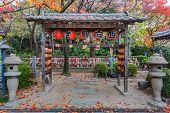 Jizo Statues for the unborn children at Zojoji Temple in Tokyo