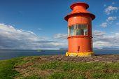 Lighthouse in Stykkisholmur.