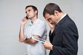 Business People Mobile Communication