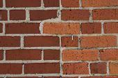 Brick Wall With Nail