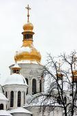 Kyiv's saint winter