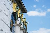 Architecture Otto Wagner Vienna poster