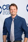 LOS ANGELES - MAY 19:  Tyler Ritter at the CBS Summer Soiree at the London Hotel on May 19, 2014 in