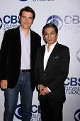 LOS ANGELES - MAY 19:  Goran Visnjic, Hiroyuki Sanada at the CBS Summer Soiree at the London Hotel o