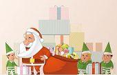 Santa And Elfs