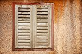Abandoned House Shutters Detail