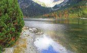 Popradske pleso - tarn in High Tatras, Slovakia