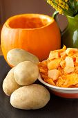 Pumpkin And Potatoes