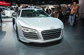 Audi R8 2015 On Display