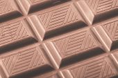 foto of grub  - Chocolate bar close up - JPG