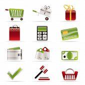 Iconos de la tienda online