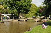 Village centre, Bourton on the Water.