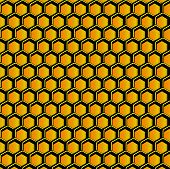 Stylized Honeycomb
