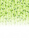 Green shiny geometric hi-tech background. Vector illustration