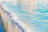 Beautiful Macro Pool In Pamukkale, Turkey