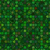 Abstract vector background Seamless green mosaic pattern