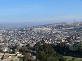 View Over The Moroccan City Fes