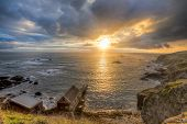 Lizard Point Cornwall Sunset