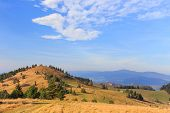 foto of pieniny  - autumn mountain landscape - JPG