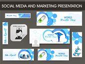 pic of biomedical  - Set of social media and marketing header - JPG