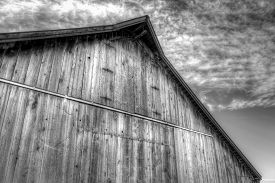 picture of barn house  - An abandoned barn in Northern California - JPG