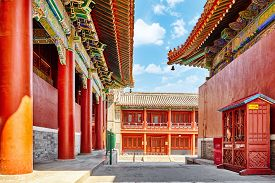 pic of lamas  - Beautiful View of Yonghegong Lama Temple - JPG