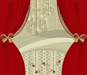 Encore! Red Curtain Stage