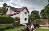 Idyllic rural canal side house for sale