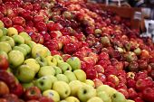Apples in Grocery Store
