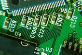 Circuit Board With Chips