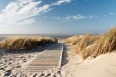 North Sea Beach On Langeoog