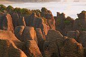 Pancake Rock Canyon In New Zealand