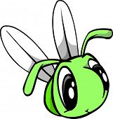 Cute Fly Vector Illustration