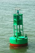 Channel Buoy In River