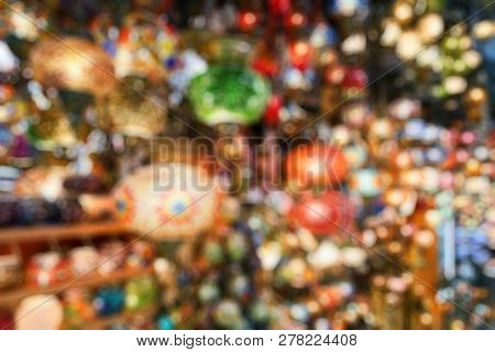 Lamps In Grand Bazaar As