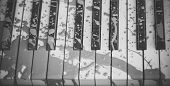 Painted Piano, Musical Style, Grunge Instrument. Pop And Classical Music, Melody, Rhapsody. Art, Dec poster