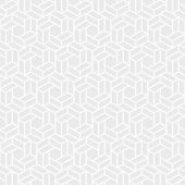 Abstract Seamless Pattern. Modern Stylish Texture. Repeating Geometric Tiles Of Hexagons. White And  poster